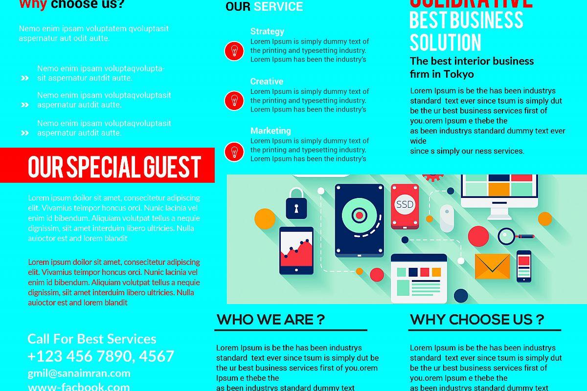 Tri Fold Brochure  Template example image 1