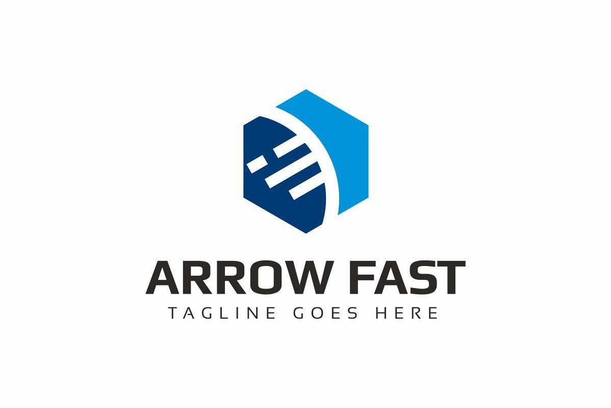 Arrow Fast Logo example image 1