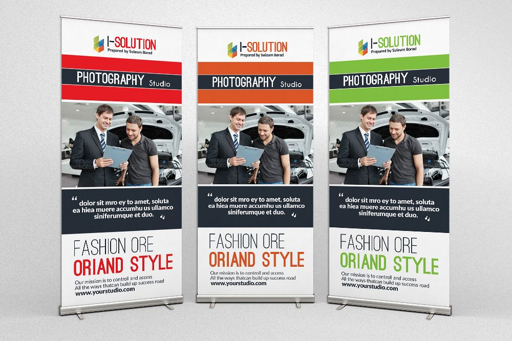 Car Dealer & Auto Services Roll Up Banners example image 1