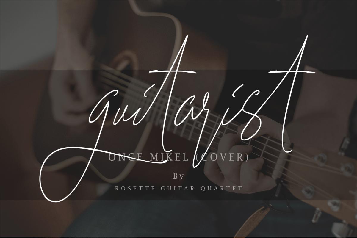 Guitarist example image 1