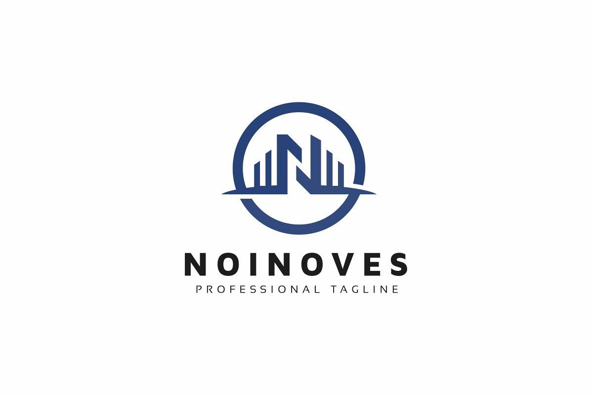 Noinoves N Letter Logo example image 1