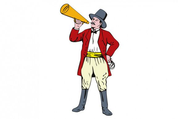 Ringmaster with Bullhorn example image 1