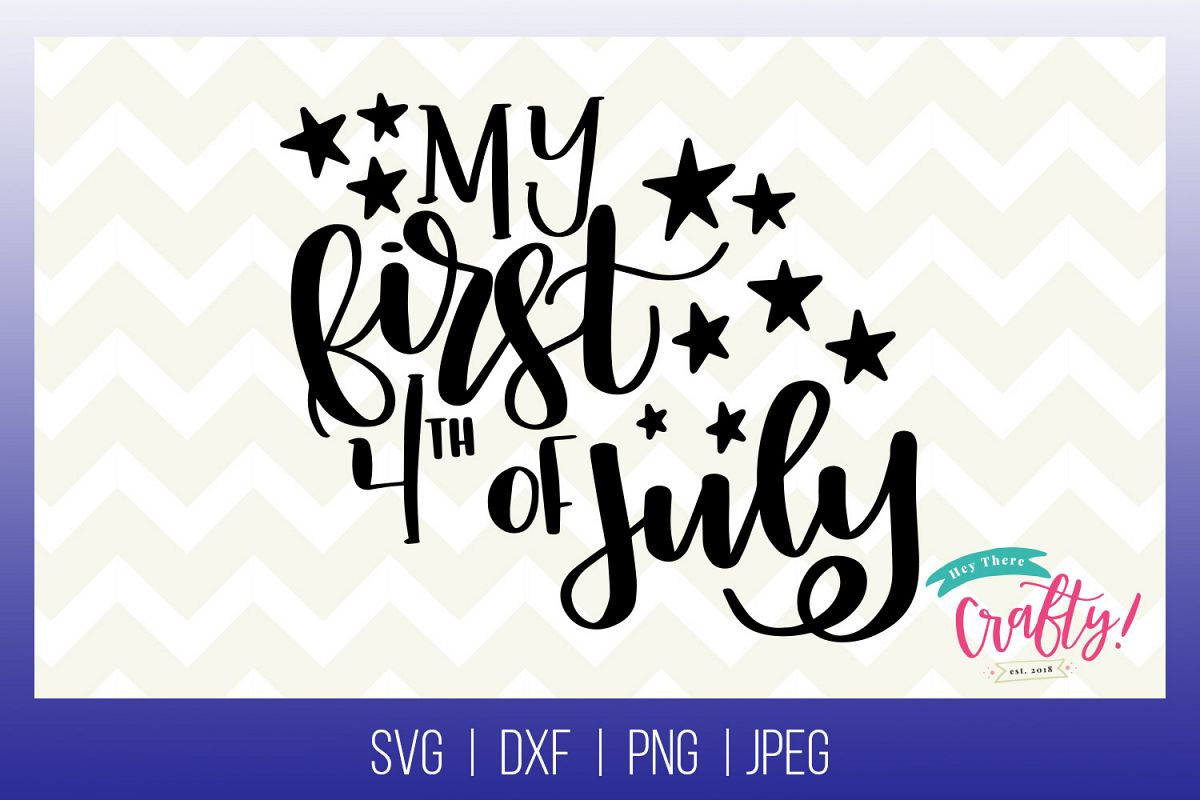 My First 4th of July | Digital File example image 1