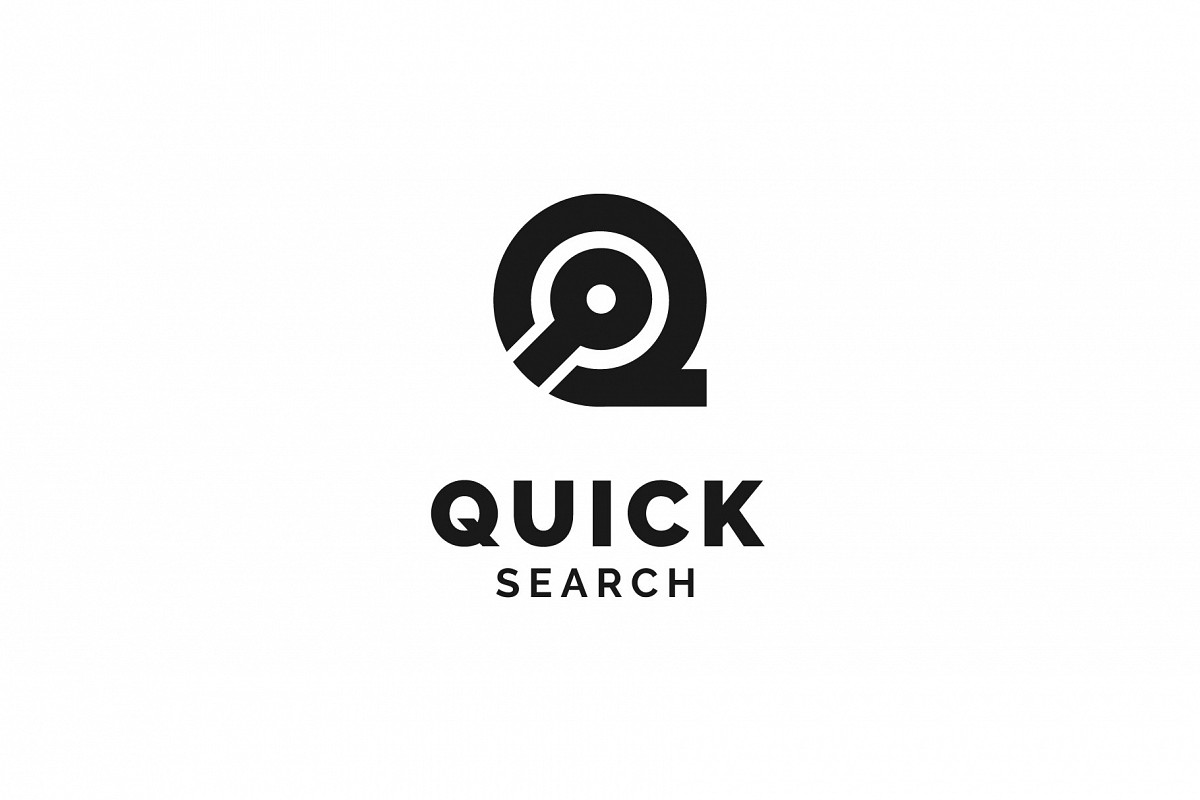 Quick Search Logo example image 1