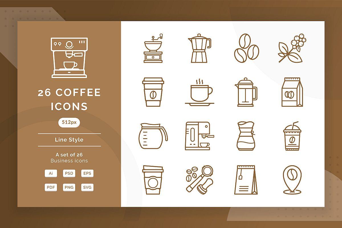 Coffee Icons example image 1