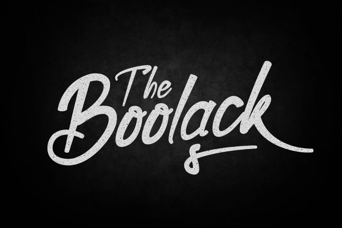 Boolack Typeface example image 1