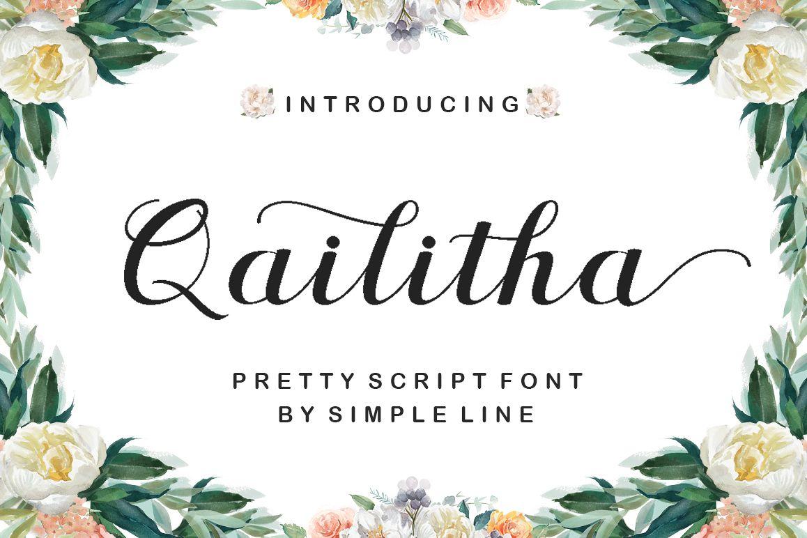 Qailitha Script example image 1