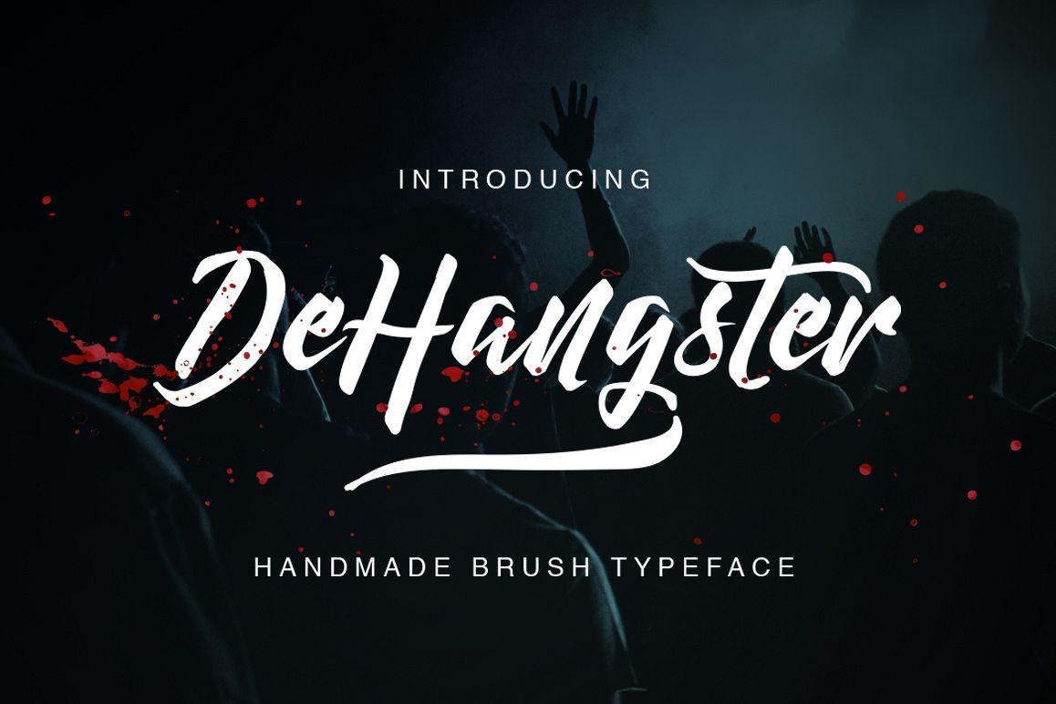 DeHangster Typeface example image 1