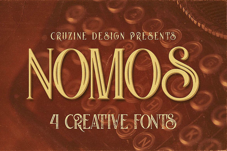 Nomos Typeface example image 1