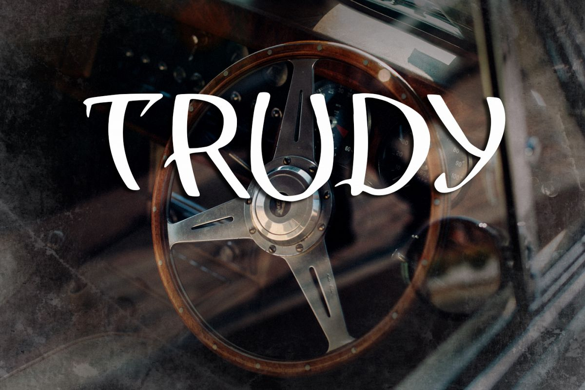 Trudy Font example image 1