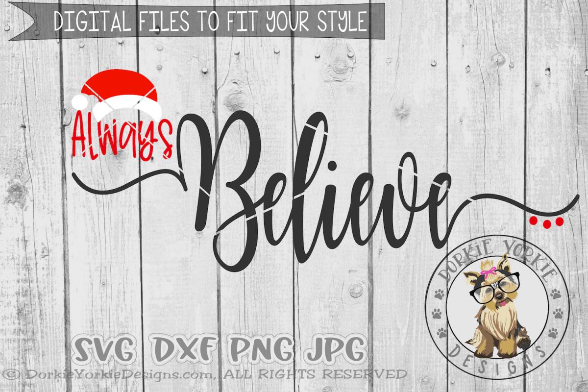 Always Believe Santa example image 1