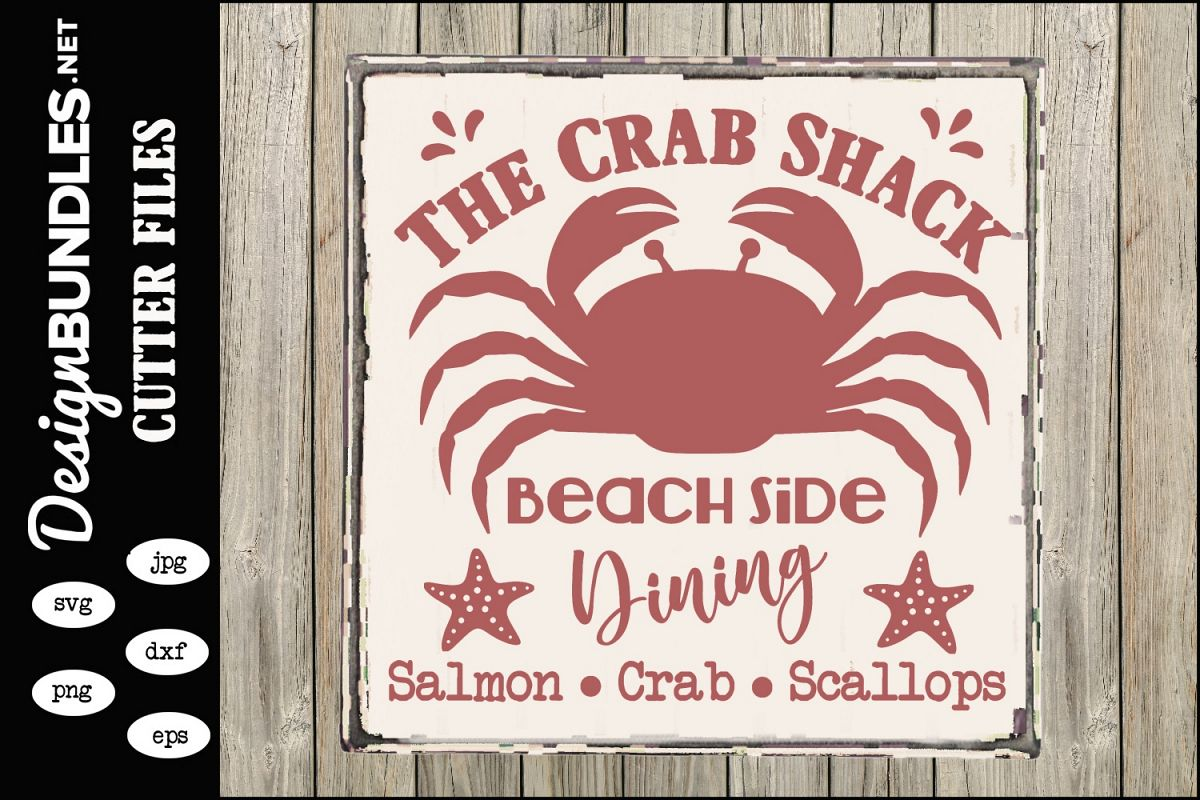 The Crab Shack SVG example image 1
