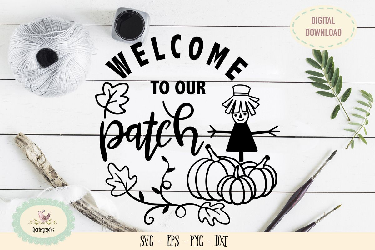 Welcome to our patch halloween SVG PNG example image 1
