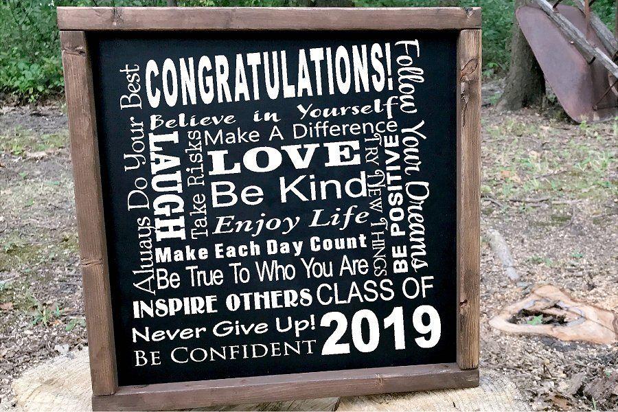 Senior 2019 Class of 2019 SUBWAY ART SVG Graduation example image 1