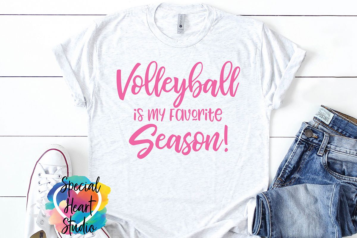 Volleyball is my Favorite Season - A Volleyball SVG Cut File example image 1