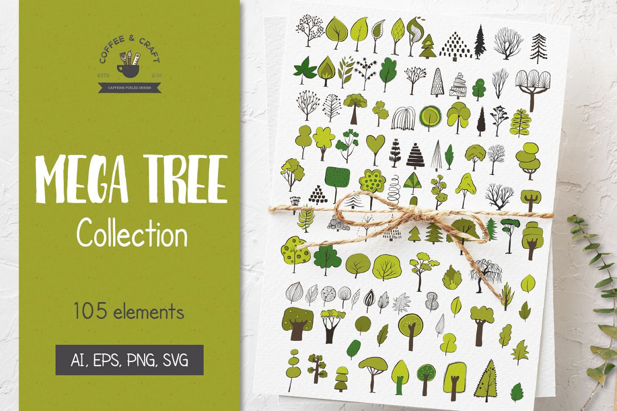 Mega Tree Collection example image 1