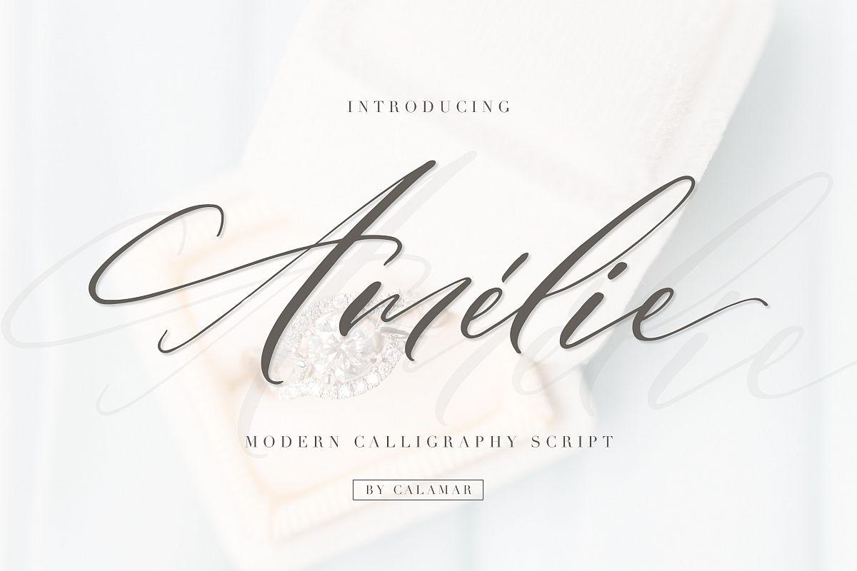 Amélie Script example image 1