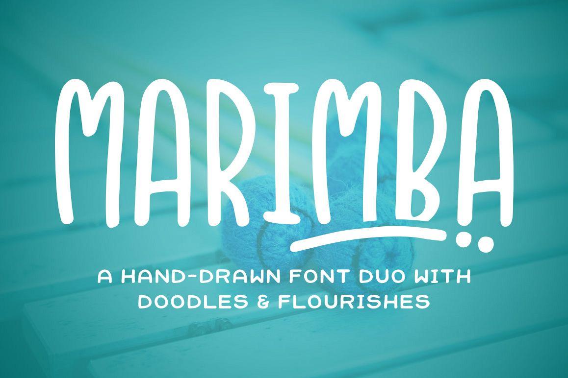 Marimba Font Duo example image 1