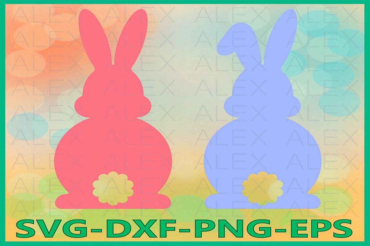 Easter Bunny svg, Bunny Svg, Easter SVG, Rabbits Svg example image 1