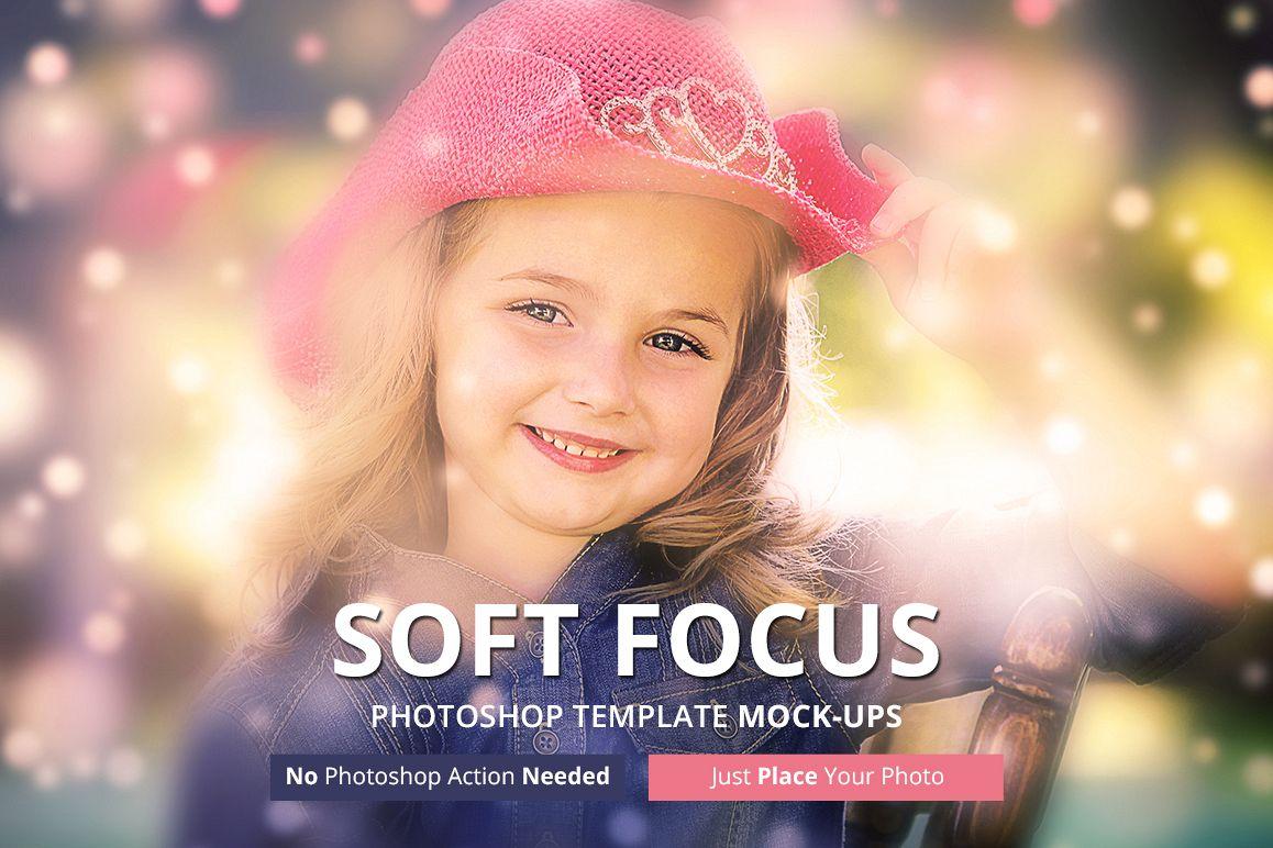 Soft Focus Photoshop Mock-ups example image 1