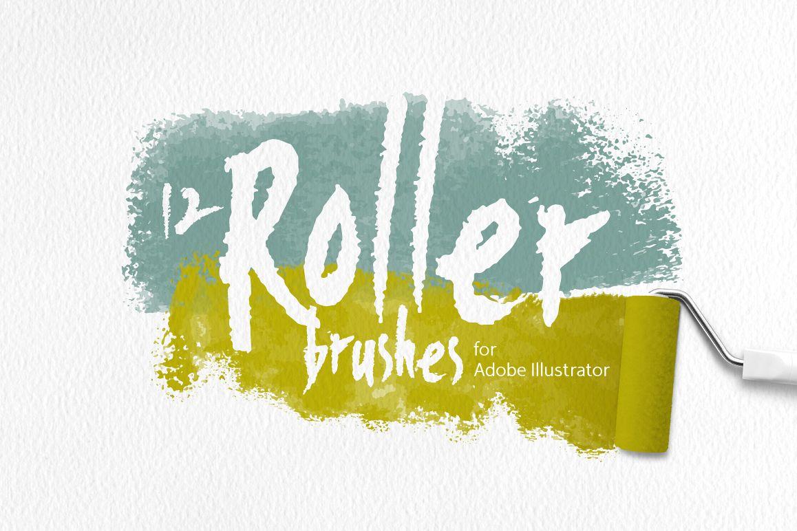 Roller Brushes for Illustrator example image 1