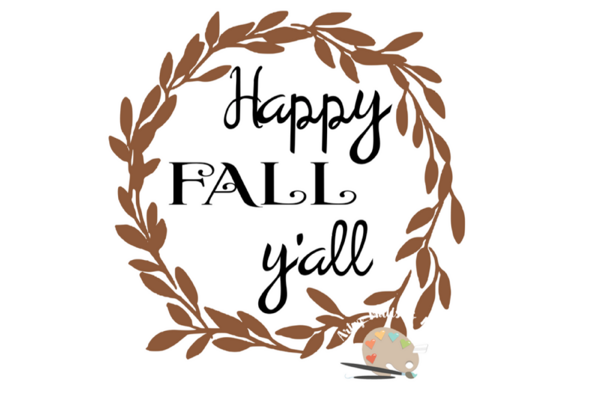 Happy Thanksgiving Yall >> Happy Fall Y All Svg Cut File Fall Leaves Svg Thanksgiving