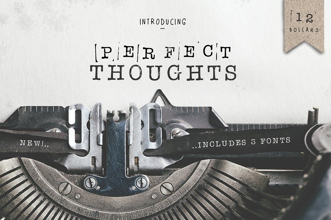 Perfect Thoughts Font example image 1