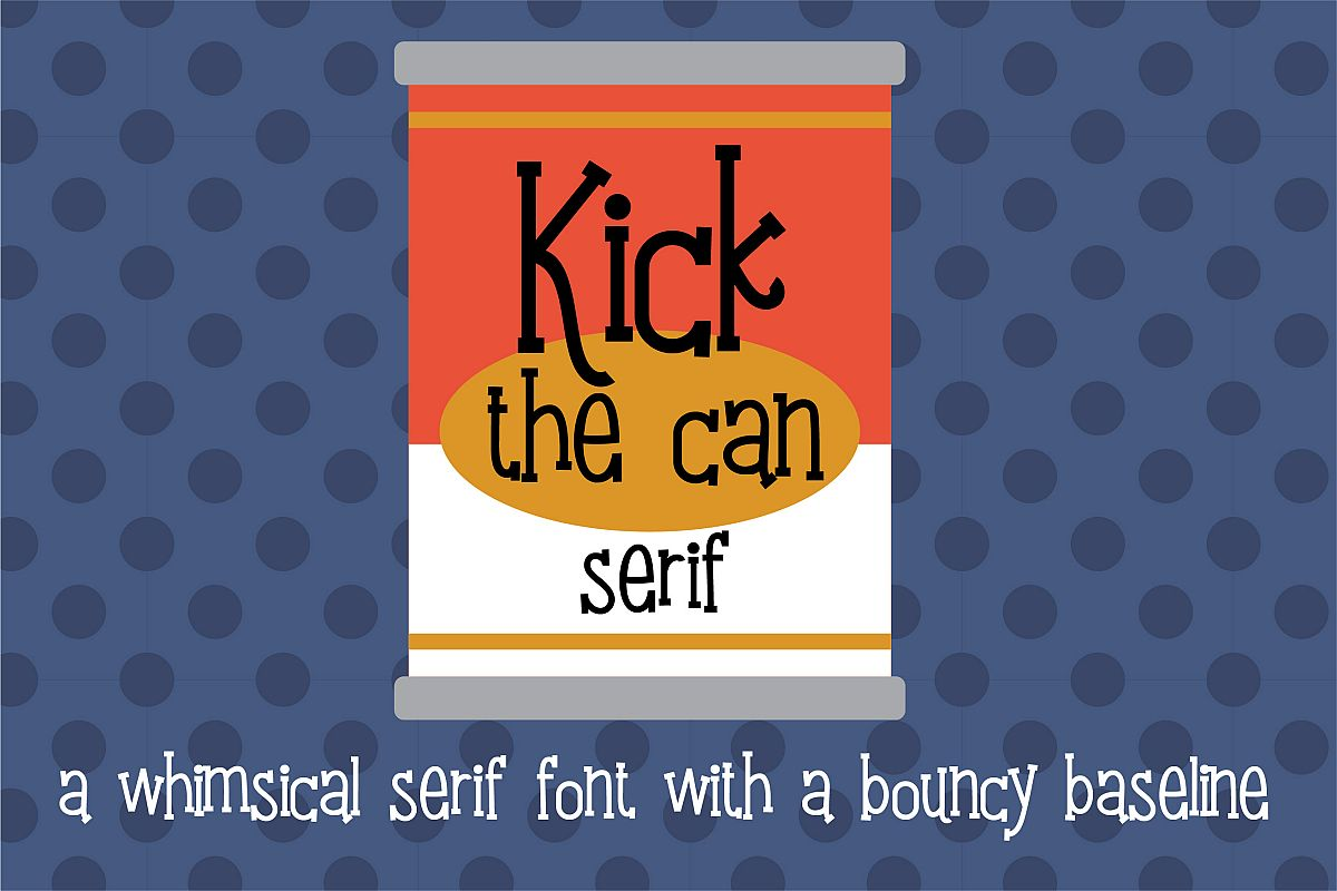 PN Kick the Can Serif example image 1