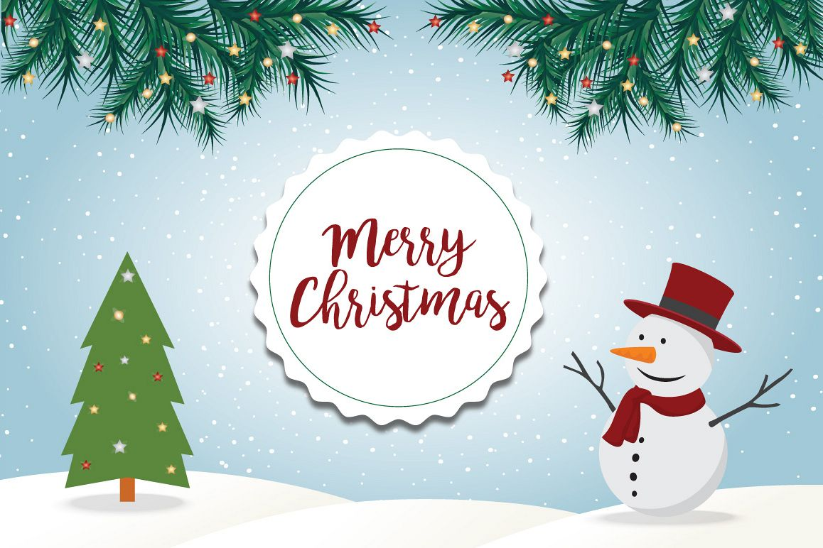 Christmas elements characters example image 1