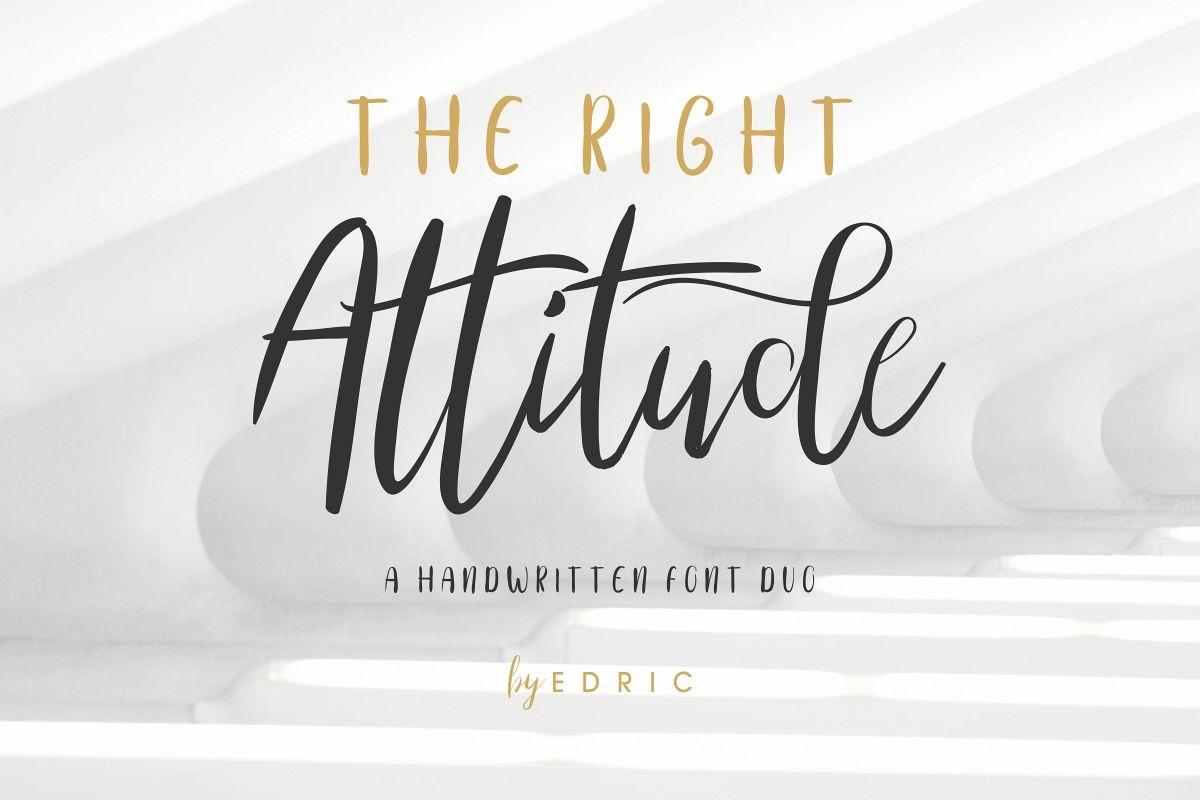 TheRightAttitude example image 1