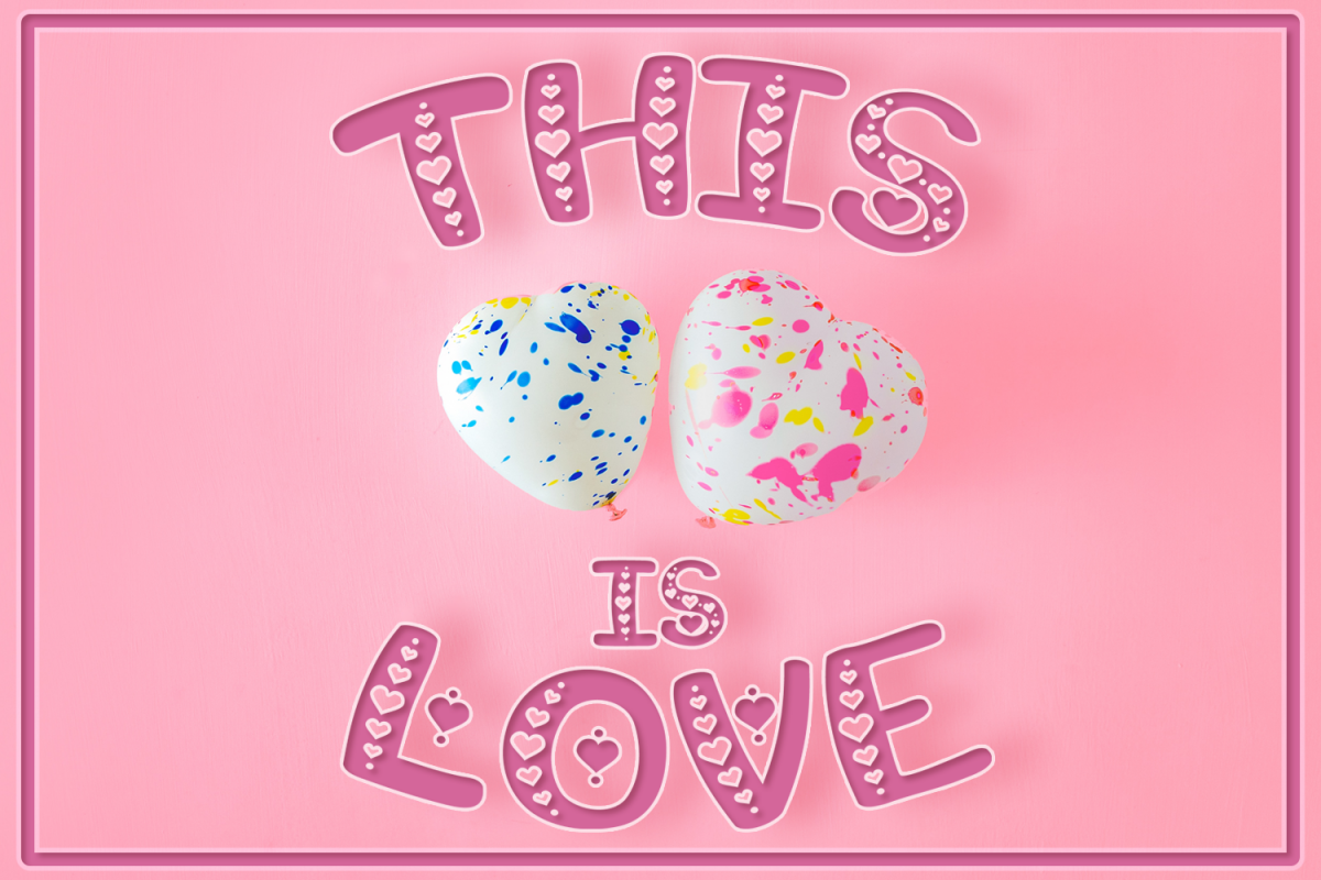 This is Love | Valentine's Craft Font example image 1