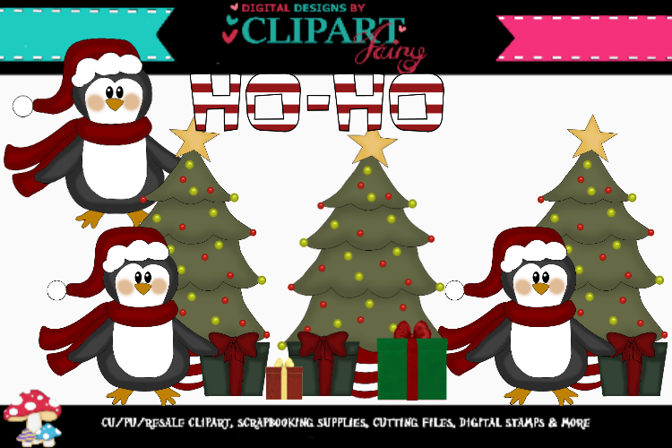 Christmas Penguin example image 1