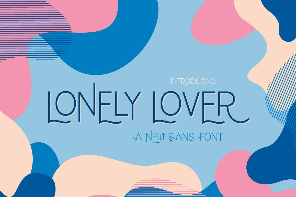 Lonely Lover Font example image 1