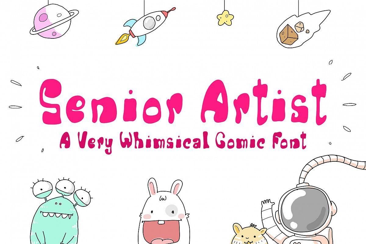 Senior Artist example image 1