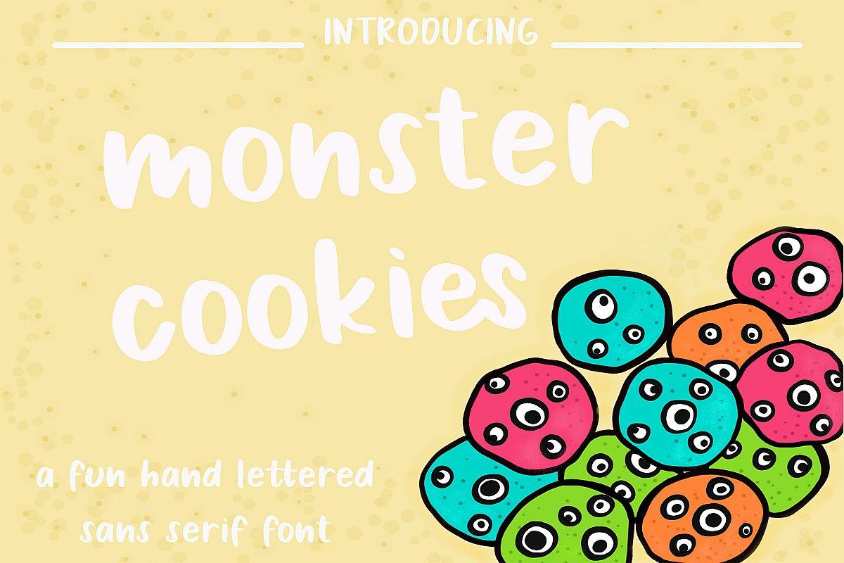 Monster Cookies example image 1
