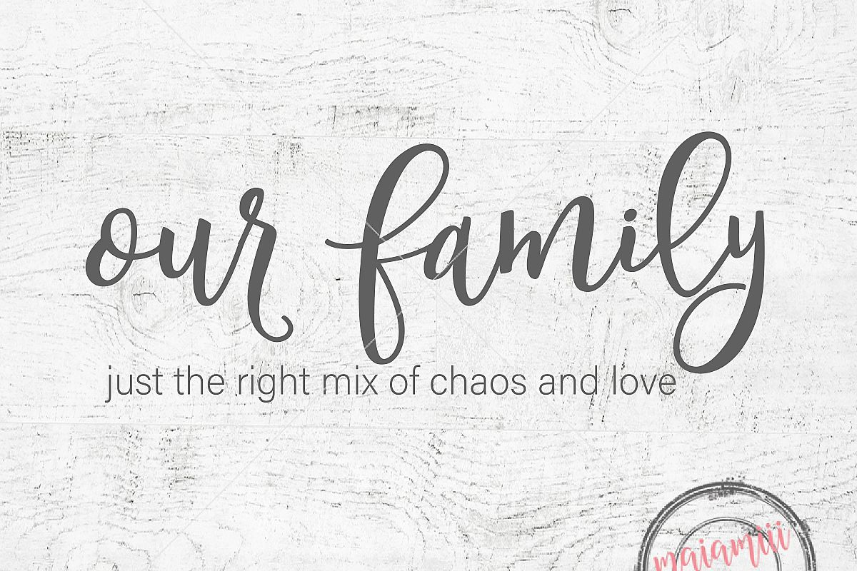Family Svg Home Our Cut File Decor Wood Sign Love
