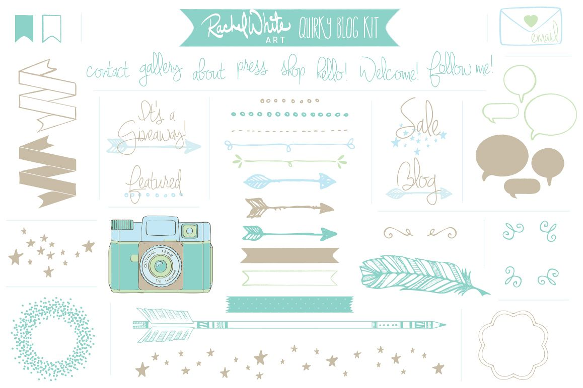 Quirky Blog Kit example image 1