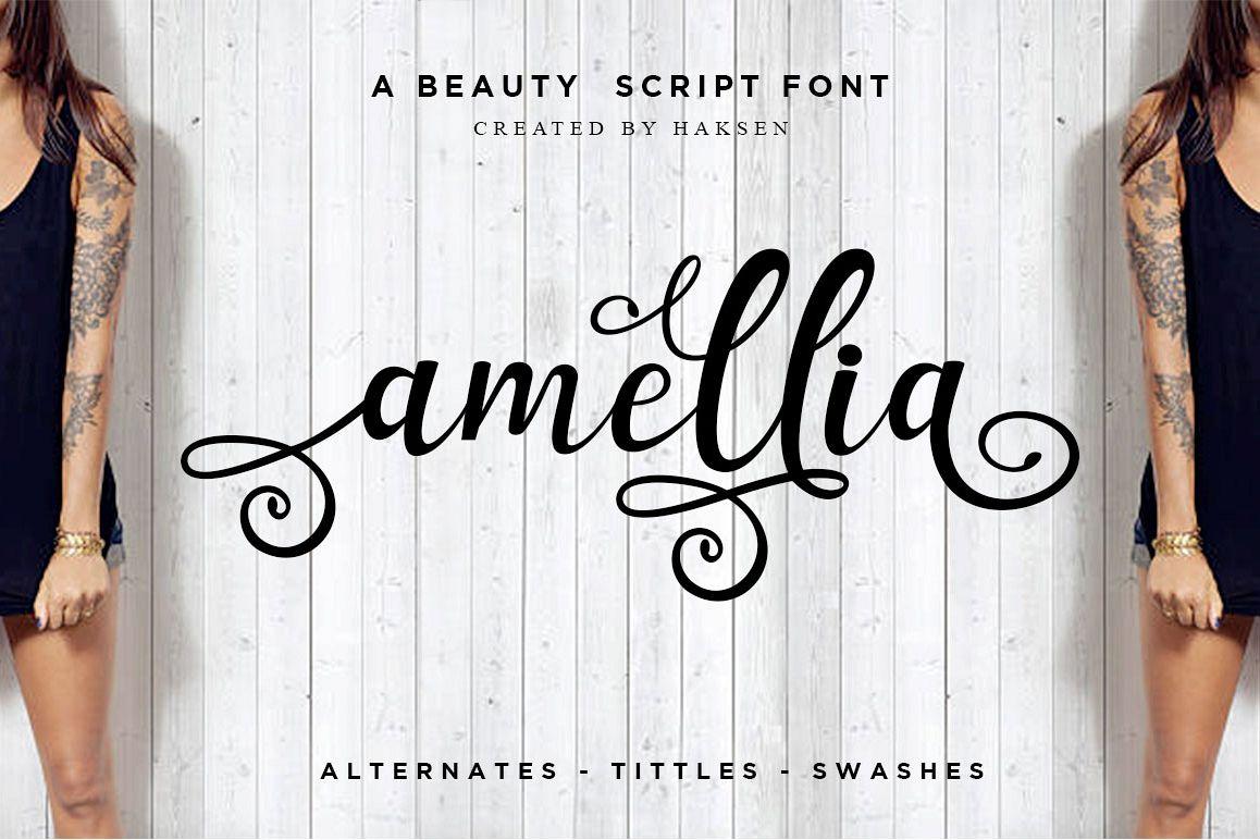 Amellia Beauty Script example image 1