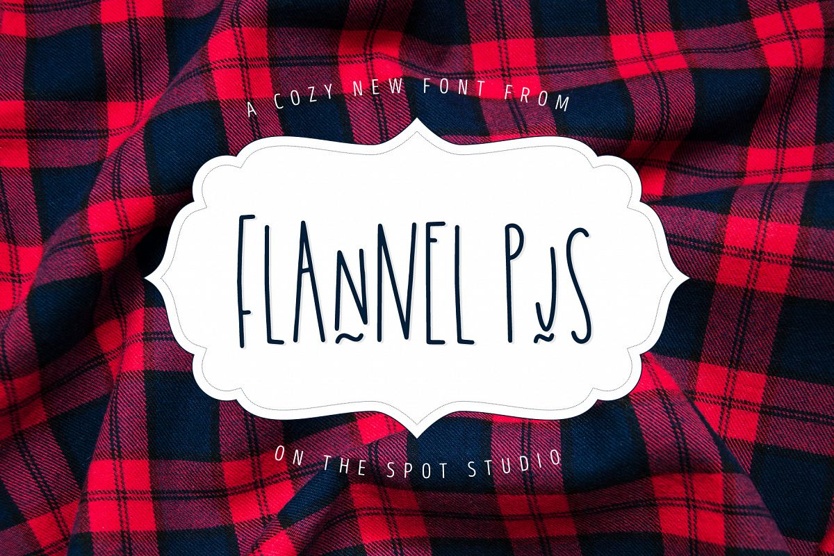 Flannel PJs example image 1