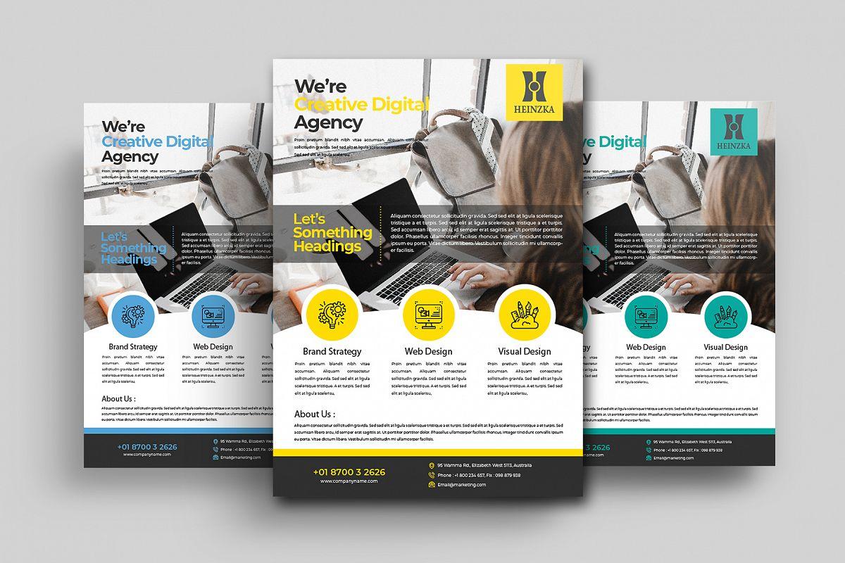 Creative Corporate Flyer Vol. 01 example image 1