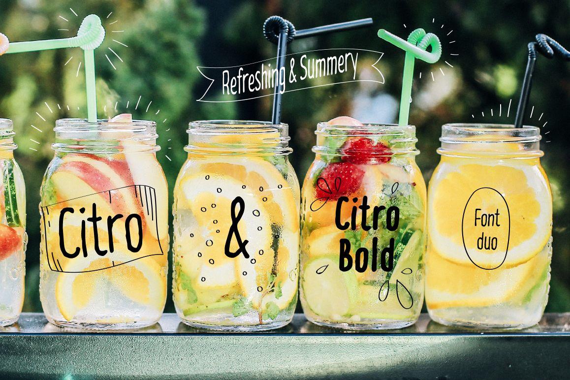 Citro & Citro Bold example image 1