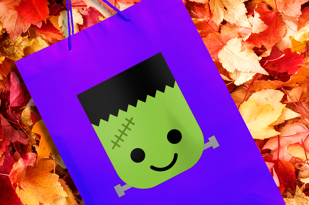 frankenstein s monster face halloween svg file cutting template