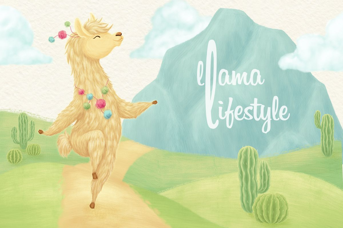 Llama Lifestyle Collection example image 1