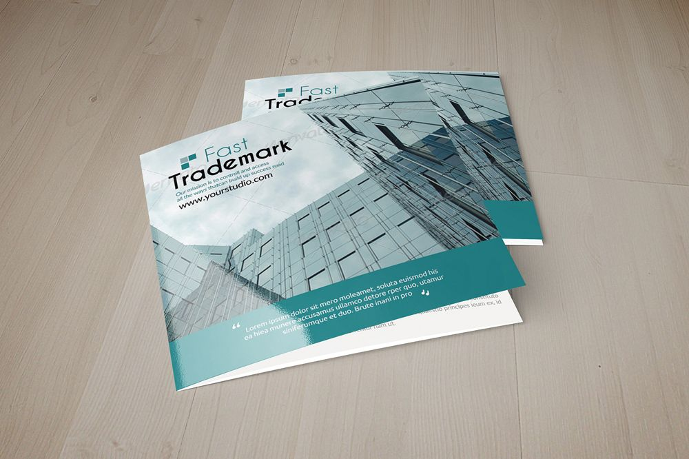 Employment Business Square Trifold Brochure example image 1