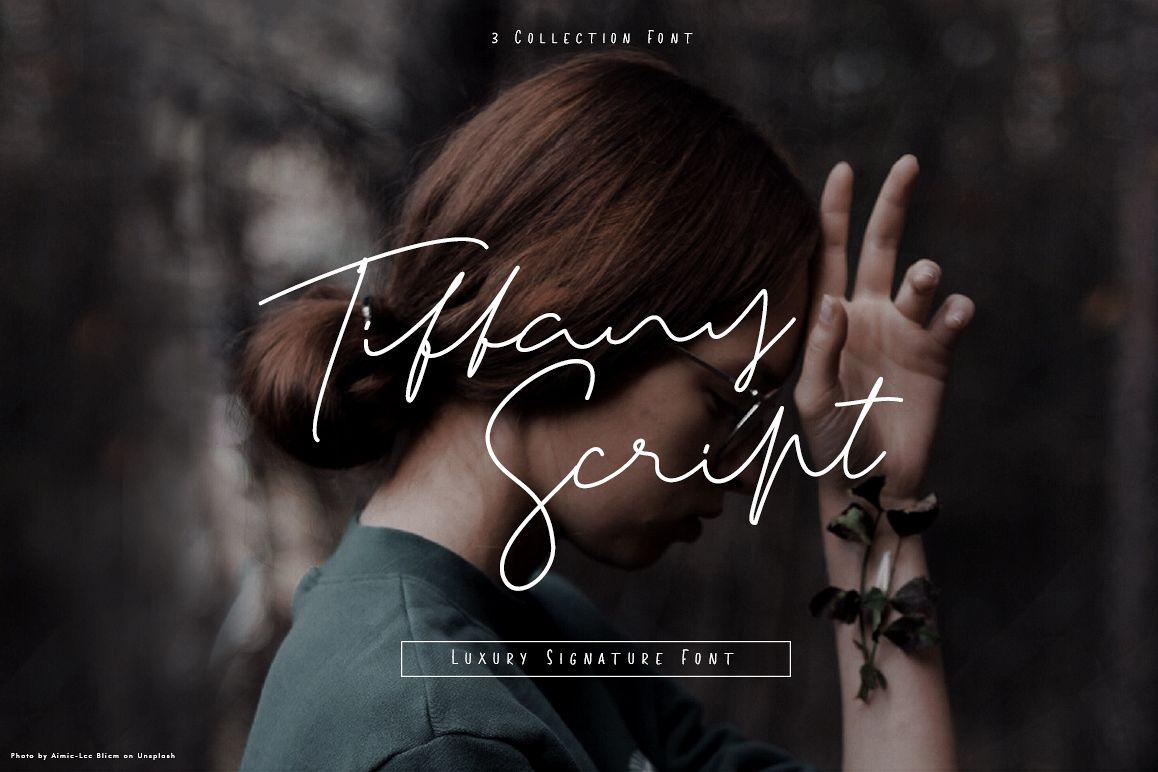 Tiffany Script example image 1