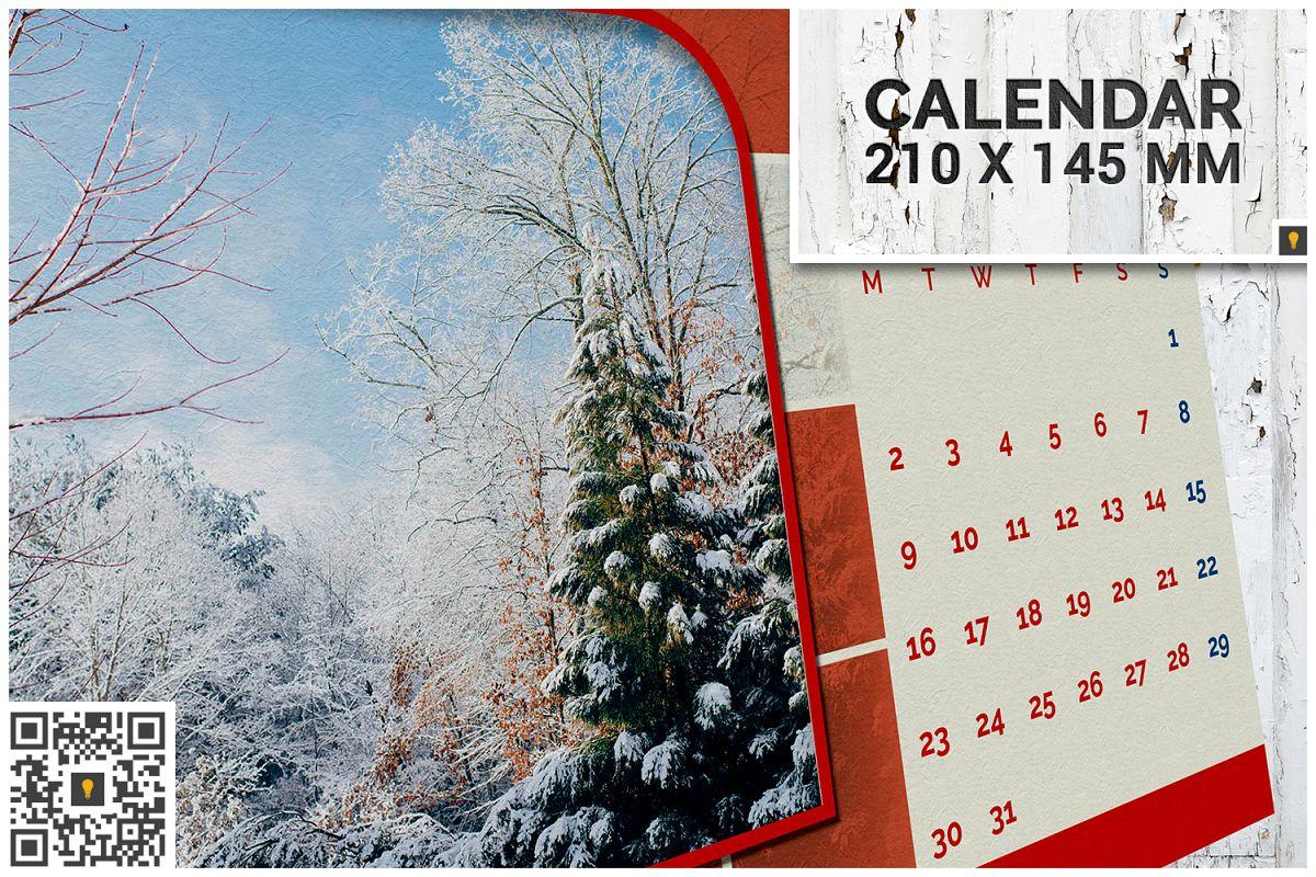 2017 Desktop Calendar example image 1