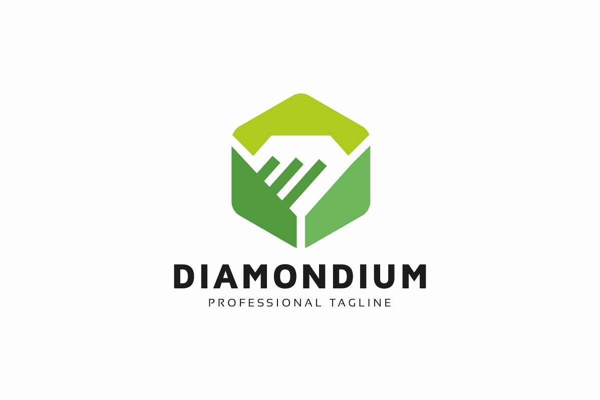 Diamond Connection Logo Template example image 1