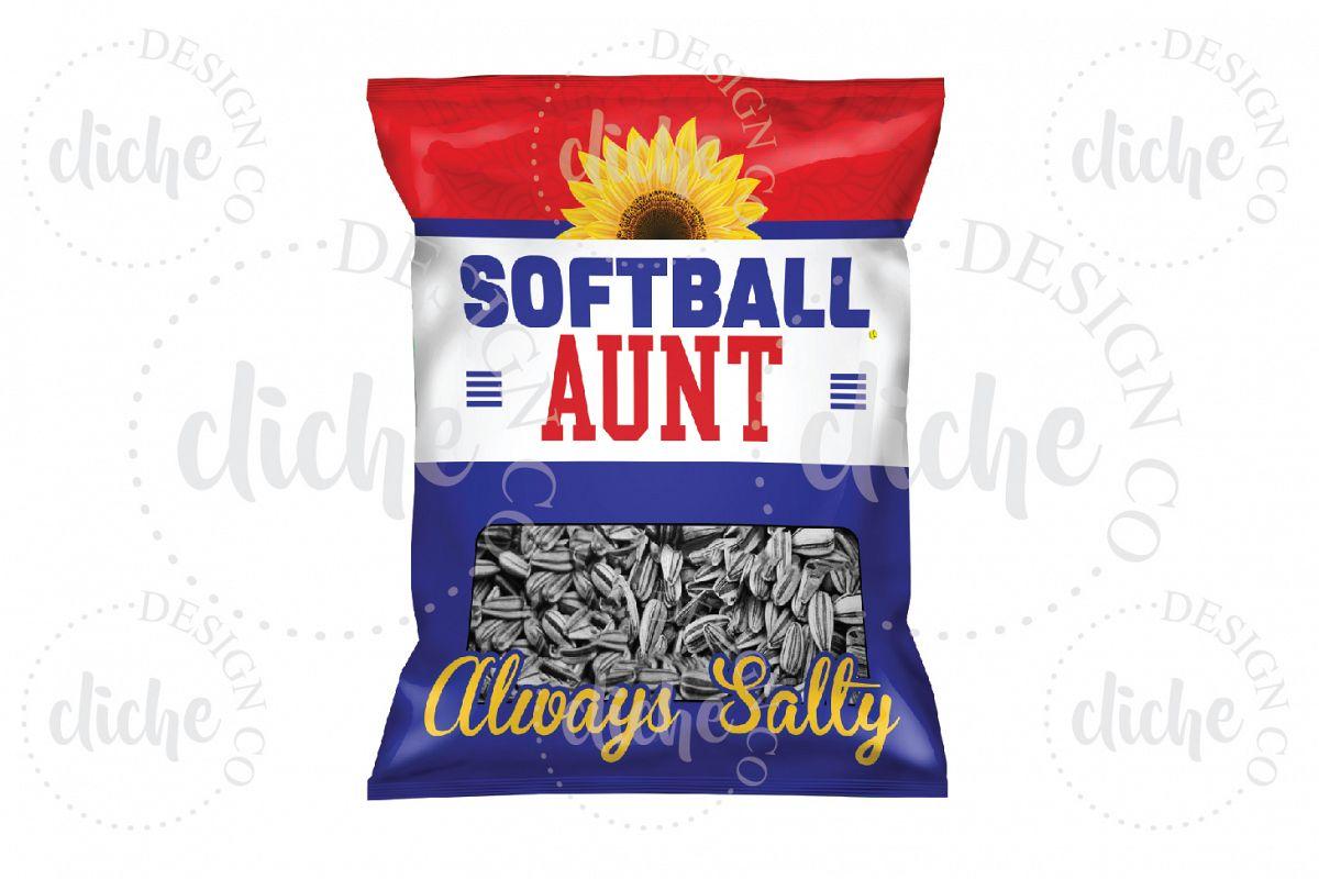 Softball Sublimation Design example image 1
