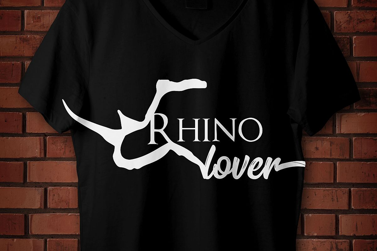 Rhinoceros, Rhino lover svg, Rhinoceros, rinoceronte, amante a los rinocerontes eps, cutting machine example image 1