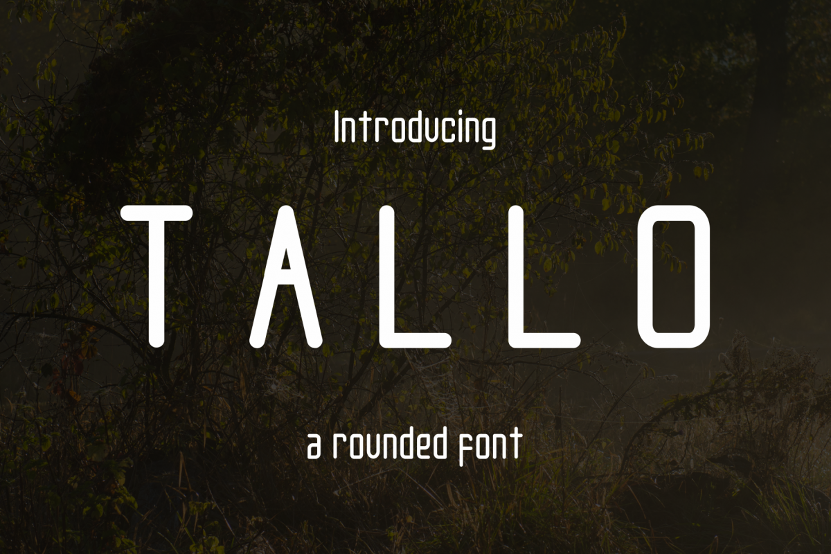 Tallo Font  example image 1